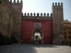 Entrance - Real Alcázar - Sevilla