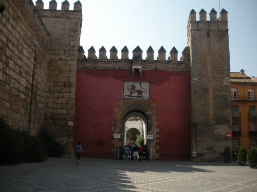Entrance - Real Alcázar - Sevilla