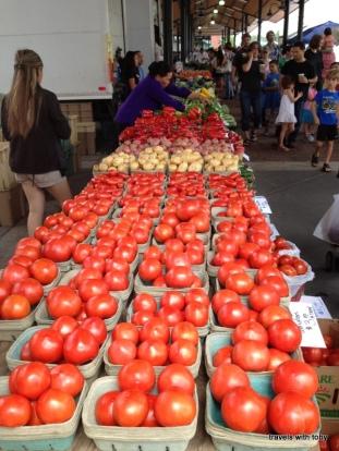 St. Paul farmers' market