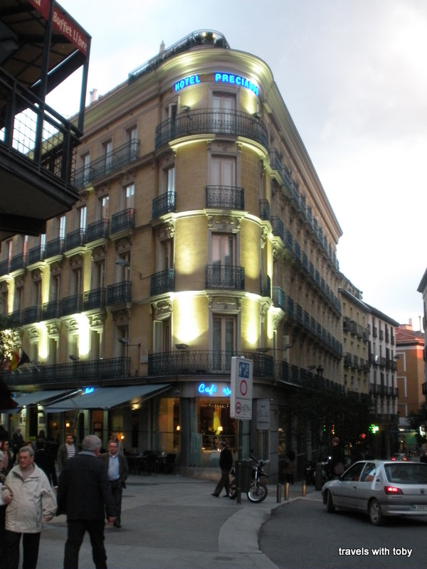 Hotel preciados travels with toby for Hotel preciados madrid