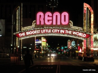 At night, Reno, Nevada