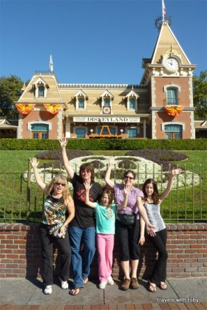 Disneyland with our good friends