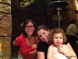 Three generations: me, my niece, my great niece