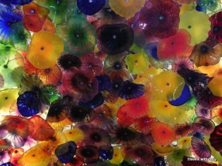 ceiling at the Bellagio Hotel, Las Vegas