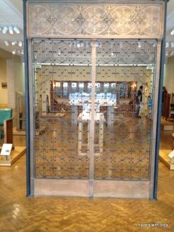 Wright: One side of doors(elevator doors?)