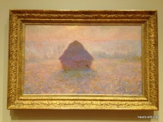 One of Monet's many Hay Stacks paintings