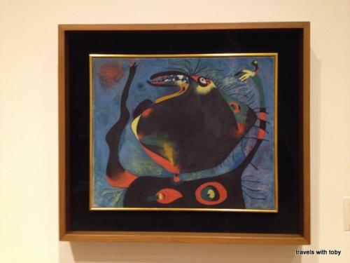 Head of a Woman by Joan Miro