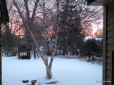 winter sunrise in the twin cities 2013