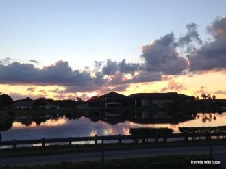 Sunrise in Florida