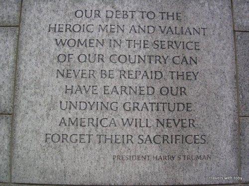 Truman words