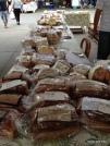 layers of bread! (not veggies)