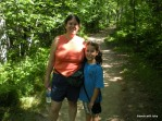 on the trail - Jay Cooke state park