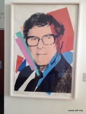 Frederick Weisman by Andy Warhol, Weisman Art Museum