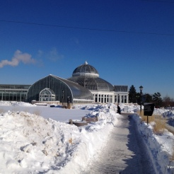 approaching the conservatory