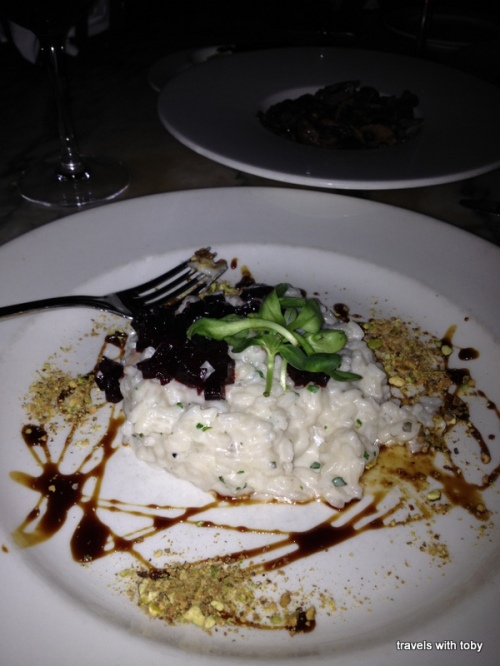 Truffle and Goat Cheese Risotto