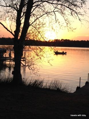 11th Crow Wing Lake, spring