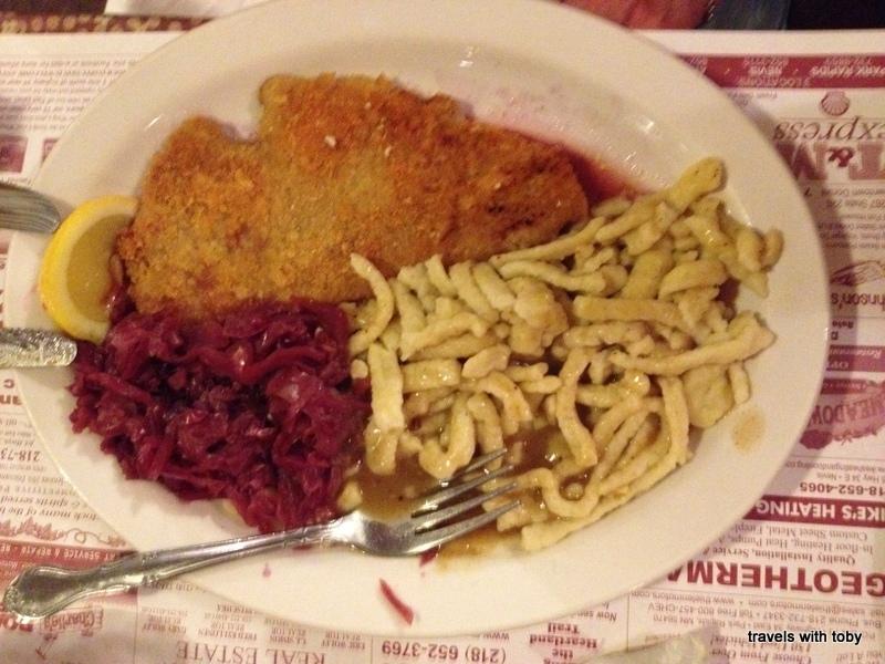 German Wiener Schnitzel