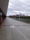 looking back towards downtown Minneapolis