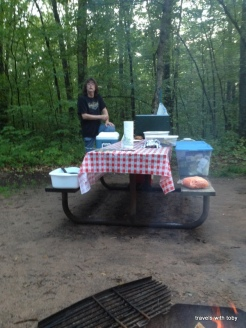 camping, Wild River State Park
