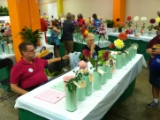 The Dahlia Society folks ready to take in new members