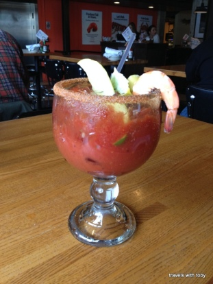 now that's a bloody Mary!!
