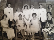 my mother's family - the wedding of the oldest son of her brother(my cousin)