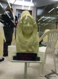 princess butter sculptures