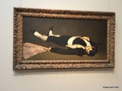 The dead toreador by Manet
