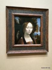 A Da Vinci in the brochure of special art