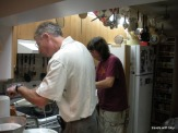 men in the kitchen!