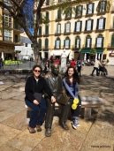 with our favorite artist from Malaga: Picasso