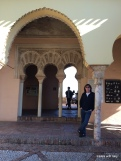 inside the Alcazaba