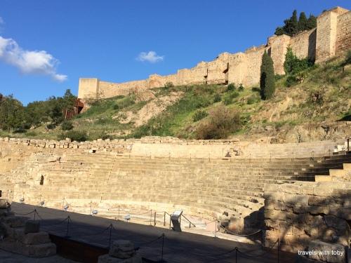 Alcazaba y teatro romano