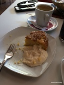 tortilla española in Córdoba with a dolop of mayo? we noticed this only in Andalucia