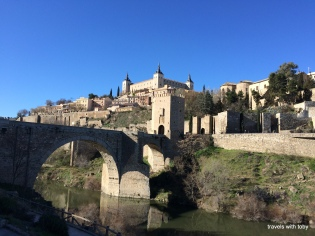 We're headed for that castle(Toledo)