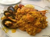probably the best paella I've ever had! Cafe Varela, Madrid