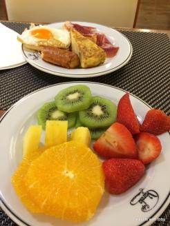 breakfast buffet, Cafe Varela