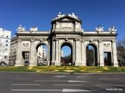 Puerta de Alacalá-Madrid