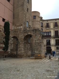 Roman wall, Barcelona