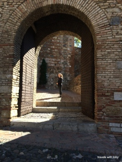 alcazar, Malaga Spain