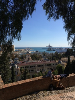 from the alcazaba, Málaga