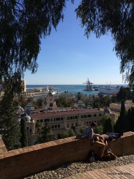from the alcazaba, Málaga