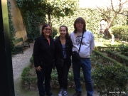 we three in Lope de Vega's garden