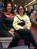 sisters on the metro