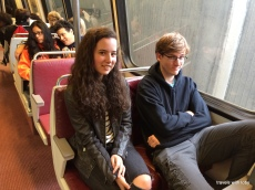cousins on the metro