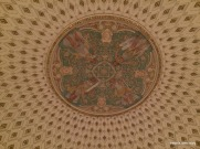 ceiling in Jefferson's library exhibit, Library of Congress, D.C.