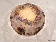 even the dome was covered in cloth :(