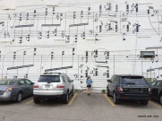 Schmitt music mural, Minneapolis