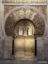 Mihrab close up