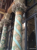 more beautiful tiled pillars